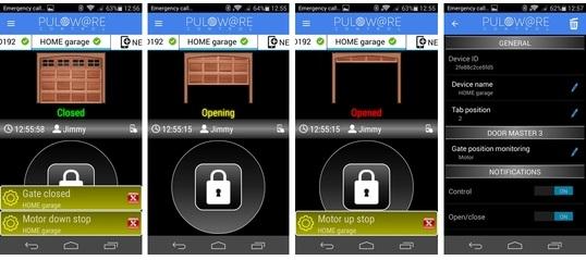 Wifi Garage Door Opener Dp Door I Dupol Iot