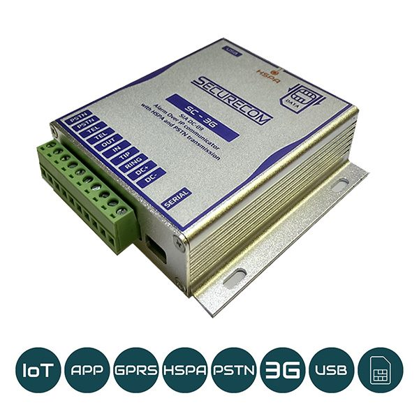 SC-3G alarm monitoring communicator